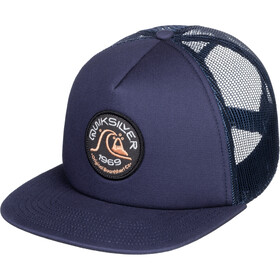 Quiksilver Broacher Trucker Hat Men, majolica blue